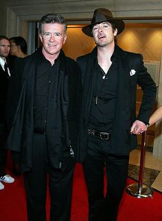 alan thicke robin thicke actor alan thicke l and his son singer robin . Alan Thicke, Robin Thicke, Father And Son, Mom And Dad, Hot Hollywood Actors, Gloria Loring, Beautiful Voice, Beautiful People, All In The Family