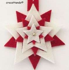 arts and crafts for little kids Christmas Sewing, Christmas Crafts For Kids, Christmas Art, Christmas Projects, Holiday Crafts, Handmade Christmas Decorations, Felt Decorations, Felt Christmas Ornaments, Navidad Diy