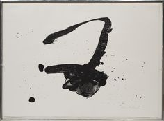 "Robert Motherwell, ""Untitled.""  on ArtStack #robert-motherwell #art"