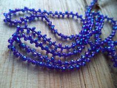 15 ft Braided Woven Glass Bead Cording 3mm by SundanceSupplies
