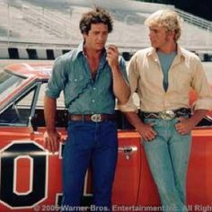 The Dukes of Hazard..Luke and Beau were always in our living room along with Cleatus, Boss Hogg, Enis, Daisy and Uncle Jesse.