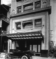 Original Canopy @ Entry to the Florida Life Building