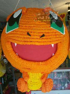 #Piñata #Charmander ya listos para las vacaciones de Semana Santa.