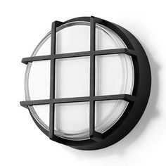 "BEGA US, Inc. 1 Light Outdoor Bulkhead Light Finish: Graphite, Size: 6.13"" H x 6.13"" W x 2.88"" D"