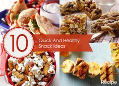 Quick  Healthy Snack Ideas That Both Busy Kids and Adults Will Love