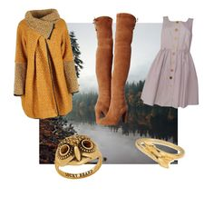 """Fall/Winter Collection #1"" by anniesaenz on Polyvore featuring Orla Kiely, Lucky Brand, ChloBo and Stuart Weitzman"