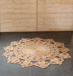 Flower Weave Marigold - Armadillo & Co - Rugs - Homeware Marigold Flower, Armadillo, Sisal, Doilies, Home Accessories, Weaving, Flooring, Rugs, Wallpaper