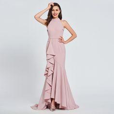 Prom Dress Stylish Dresses, Elegant Dresses, Fashion Dresses, Formal Dresses, Wedding Dresses, High Neck Formal Dress, Dresses Dresses, Women's Fashion, Fashion Trends