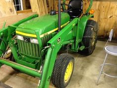 John Deere 790 Tractor New in 2000 w 70 Front End Loader and Weight Box  (eBay Link)