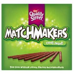 Quality Street Matchmakers Mint are yummy chocolate sticks flavoured with mint and orange. They are perfect sweet snacks for nibbling on or sharing out after a dinner party. Slimming World Treats, Slimming World Syns, Slimming World Recipes, Slimming Word, Chocolate Sticks, Best Chocolate, Chocolate Peanut Butter, Chocolate Syns, Chocolate Cake