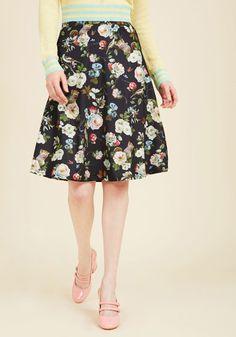 Fauna Time Coming Midi Skirt in XS, #ModCloth