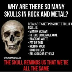 Deshalb liebe ich Rock und Metal - Sad, Sweet and/or true - Melodie The Skulls, Judas Priest, Foo Fighters, Metal Bands, Rock Bands, Hard Rock, Rock And Roll Quotes, Punk Rock Quotes, Metal Music Quotes