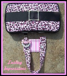 Bling Baby Wipe Case w/Rhinestone Buckle and by shoppingpriscilla, $29.99