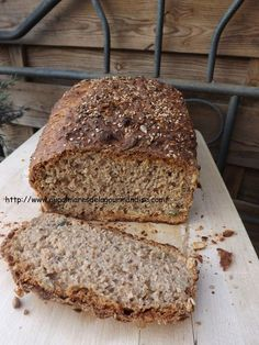 Spelled bread integral IG Bas * Healthy * Hygge * Comfort Food * Without dairy products - On the list of gourmet delicacies Best Bread Recipe, Easy Bread Recipes, Pureed Food Recipes, Gourmet Recipes, Simple Recipes, Dinner Recipes, Crock Pot Bread, Spelt Bread, Sandwiches