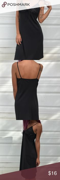 Short Slip Dress With Lace and Bow Tie front Stylish Slip dress sexy and sleek , it shapes the body and can be worn any occasion. Work or play it won't miss a beat. Pair with our Faux Leopard Jacket and show them your wild side. Dresses Mini