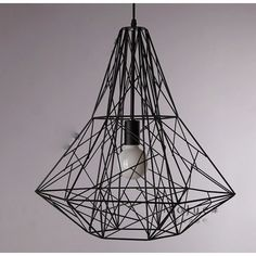 $104.00 / piece Fixture Width: 50 cm (20 inch) Fixture Length : 50 cm (20 inch) Fixture Height:54 cm (21 inch) Chain/Cord Length : 50 cm (20 inch) Color : black Materials:iron