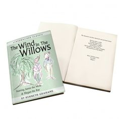 The Wind in the Willows Novel - 6 Characters | Books | Exclusively Personal