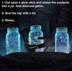 Glowstick potjes