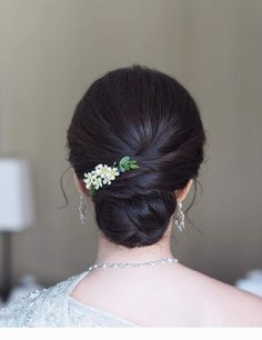 ideas hair styles wedding indian for 2019 Bridal Hair Buns, Bridal Hairdo, Hairdo Wedding, Engagement Hairstyles, Indian Wedding Hairstyles, Indian Hairstyles For Saree, Saree Hairstyles, Hairstyles Haircuts, Office Hairstyles