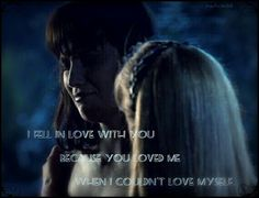 Xena warrior princess,  Xena and Gabrielle,  soulmates, quotes, Lucy Lawless and Renée O'Connor
