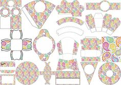 Paisley: First Communion Free Printable Kit.