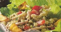 Receita de Tabule de quinoa com frango