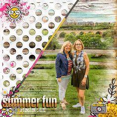 Barbara's Cre8ive Escape: Summer Fun | Theresa & Me
