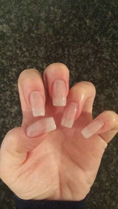 Natural acrylic extensions