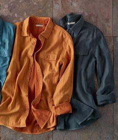 Mens Infinite Shirt - Cool Shirts - Ideas of Cool Shirts - Men's Long Sleeve Infinite Cotton Poplin Shirt Cool Shirts For Men, Casual Shirts For Men, Men Casual, Denim Shirt, T Shirt, Mens Clothing Styles, Shirt Sleeves, Shirt Style, Menswear