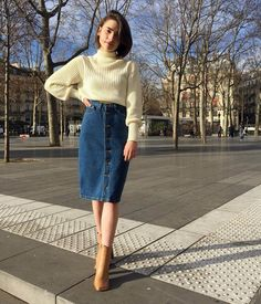 Cute way to style some vintage inspired pieces