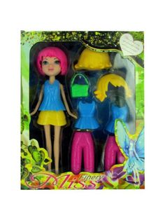 Fashion Changing Doll (Available in a pack of 4)