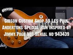 Top Shelf Guitars - Gibson CS 59 LP Special Run Inspired by Jimmy Page No1 Serial no 943439 - Tronnixx in Stock - http://www.amazon.com/dp/B015MQEF2K - http://audio.tronnixx.com/uncategorized/top-shelf-guitars-gibson-cs-59-lp-special-run-inspired-by-jimmy-page-no1-serial-no-943439/
