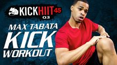 "Watch Fitness and Exercise videos on Grokker. Try ""45 Min. MAX Tabata Kickboxing HIIT Workout  