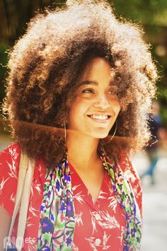 My natural hair will look like this after it grows to this length! So excited!