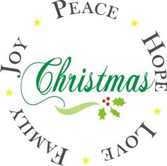 christmas peace hope love family joy 12 x 12 stencil christmas signs christmas plates - Christmas Images Black And White
