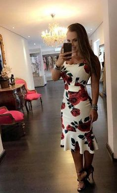 Dress pattern formal beautiful for 2019 Trendy Dresses, Cute Dresses, Beautiful Dresses, Short Dresses, Fashion Dresses, Cute Outfits, Summer Dresses, Formal Dresses, Dress Skirt