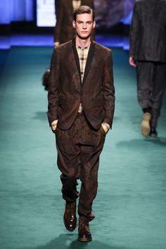 Etro, Fall 2015 Menswear