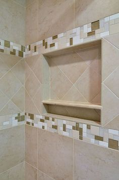 Bathroom ideas on pinterest shower seat shower niche for Bathroom ideas 7x7