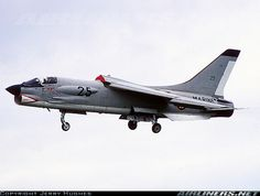 F-8 Crusader Very fine aircraft.