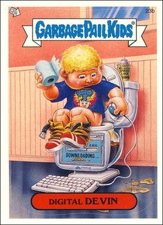 garbage pail kids grace - Google Search