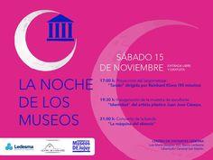 La Noche de los Museos en Ledesma.