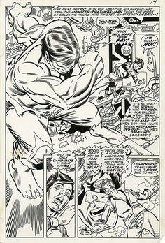 Captain Marvel #21 pg 10 Comic Art