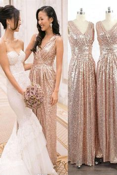 Bridesmaid Gowns High Low Bridesmaid Dresses, Prom Dresses Simple, V Neck Bridesmaid Dresses - Outlet Popular High Low Bridesmaid Dresses Simple V-neck Sparkly Prom Dresses,Long Bridesmaid Dresses,Handmade High Low Bridesmaid Gowns High Low Bridesmaid Dresses, Champagne Bridesmaid Dresses, Sparkly Prom Dresses, Simple Prom Dress, Bridesmaid Dress Colors, Bridal Dresses, Bridesmaid Gowns, Wedding Gowns, Dress Prom