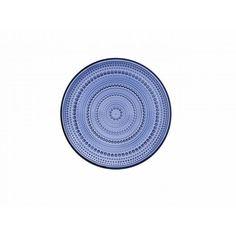 Kastehelmi-lautanen, ø 24,8 cm, ultramariini - Kattaus - Koti ja sisustus Hobby Hall