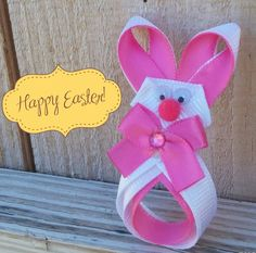 HOW TO: Make a Easter Bunny Sculpted Hair-Clip!