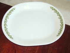 Vintage Corelle Spring Blossom Platter by NonisVintageDelights, $8.50