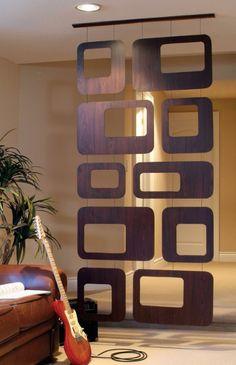 Nexxt Sotto Room Divider, Walnut Veneer