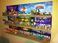 Brilliant Skylander Shelving, nicely done