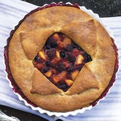 Get the recipe for Deep-Dish Peach and Berry Pie.