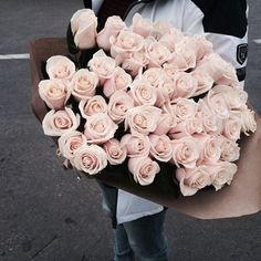 blush - roses - flowers - bloom - I love you - be my valentine My Flower, Fresh Flowers, Beautiful Flowers, Pretty Roses, Pink Flowers, Pale Dogwood, Roses Tumblr, Bloom, Plants Are Friends